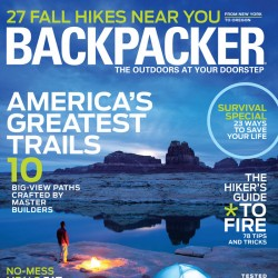 Backpacker Magazine Yearly...