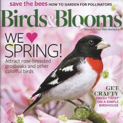 Birds And Blooms Magazine...