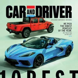 Car And Driver Magazine...
