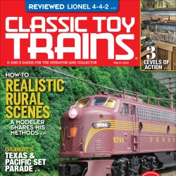 Classic Toy Trains Magazine...