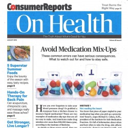 Consumer Reports On Health...