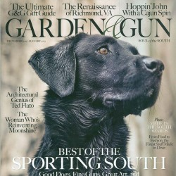 Garden And Gun Magazine...