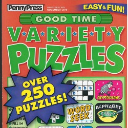 GOOD TIME VARIETY PUZZLES...