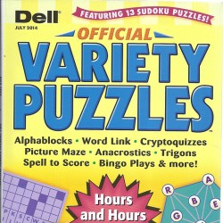 OFFICIAL VARIETY PUZZLE &...