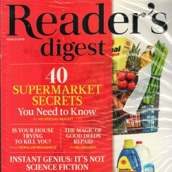 Readers Digest Magazine...