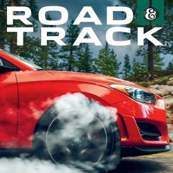 Road And Track Magazine...