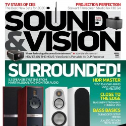 Sound And Vision Magazine...