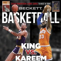Beckett Basketball Magazine...
