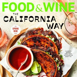 Food And Wine Magazine...