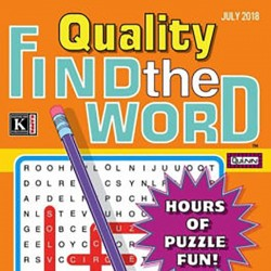 QUALITY FIND THE WORD MAGAZINE
